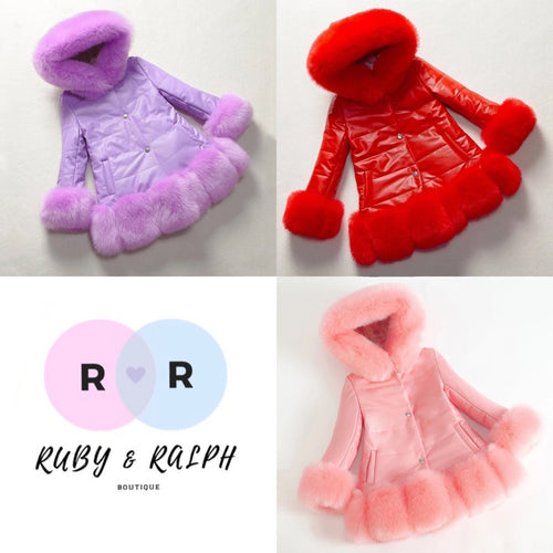 Harper Coat - Ruby & Ralph Boutique