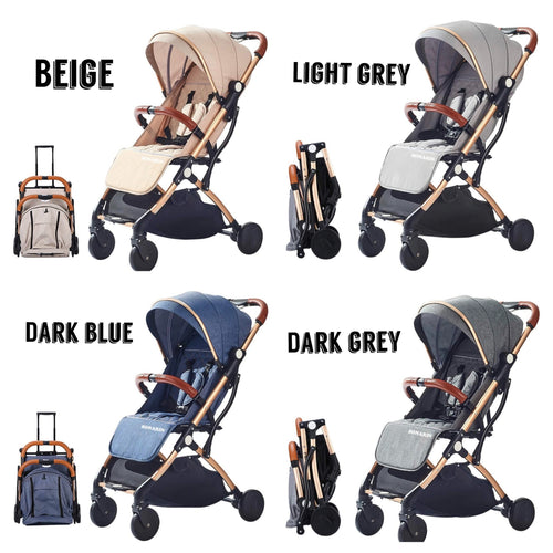 SONARIN Lightweight Stroller- 8 Colours available - Ruby & Ralph Boutique