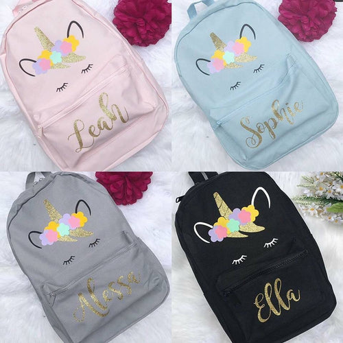 Personalised Unicorn Backpack - Ruby & Ralph Boutique