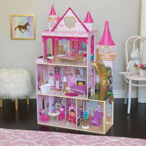 Kidkraft Rose Garden Castle with EZ Kraft Assembly™| Kidkraft Dollhouse - Ruby & Ralph Boutique