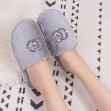 Load image into Gallery viewer, Womens Fluffy Slippers - Ruby & Ralph Boutique
