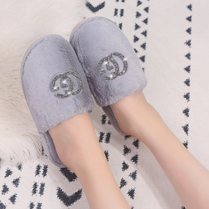 Womens Fluffy Slippers - Ruby & Ralph Boutique