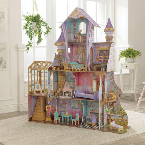Kidkraft Enchanted Greenhouse Castle Dollhouse | Includes Accessories - Ruby & Ralph Boutique