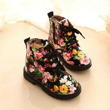 Load image into Gallery viewer, Floral Boots - Ruby & Ralph Boutique