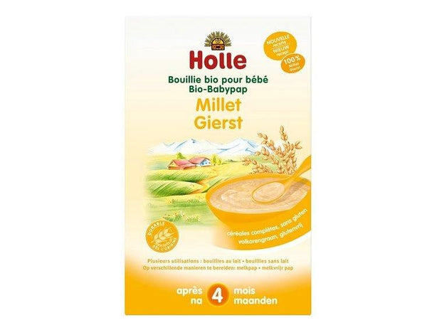 Babypap gierst 4+mnd collo - Holle (6x250gr) Holle
