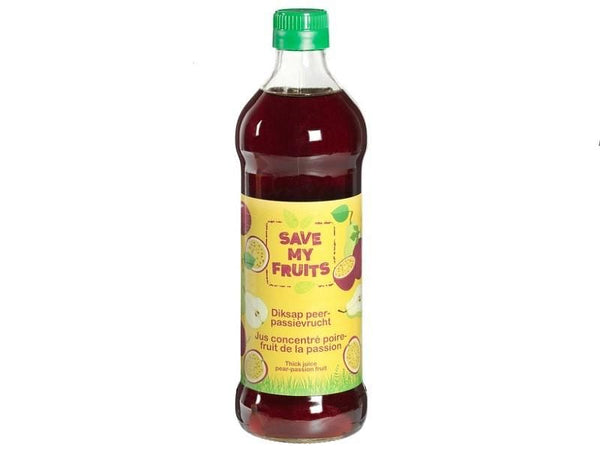 Diksap peer-passievrucht  - Save my fruits (500ml) Your Organic Nature