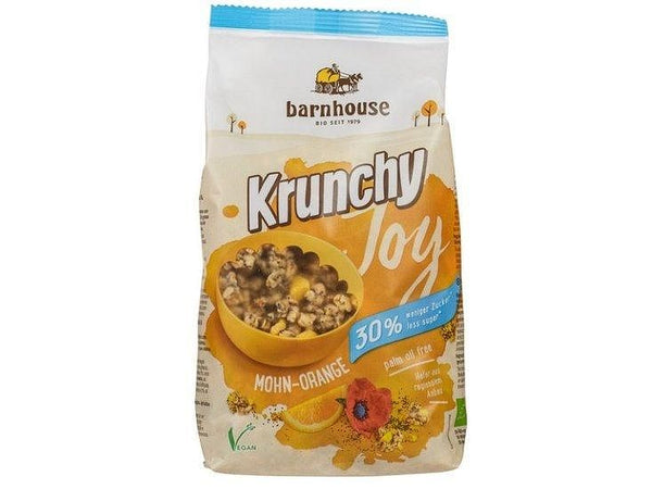Krunchy Joy poppy-orange (375gr) collo (Barnhouse) Barnhouse
