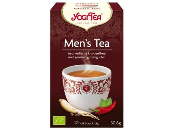 Men's thee (17zakjes) collo (Yogi Tea) Yogi Tea