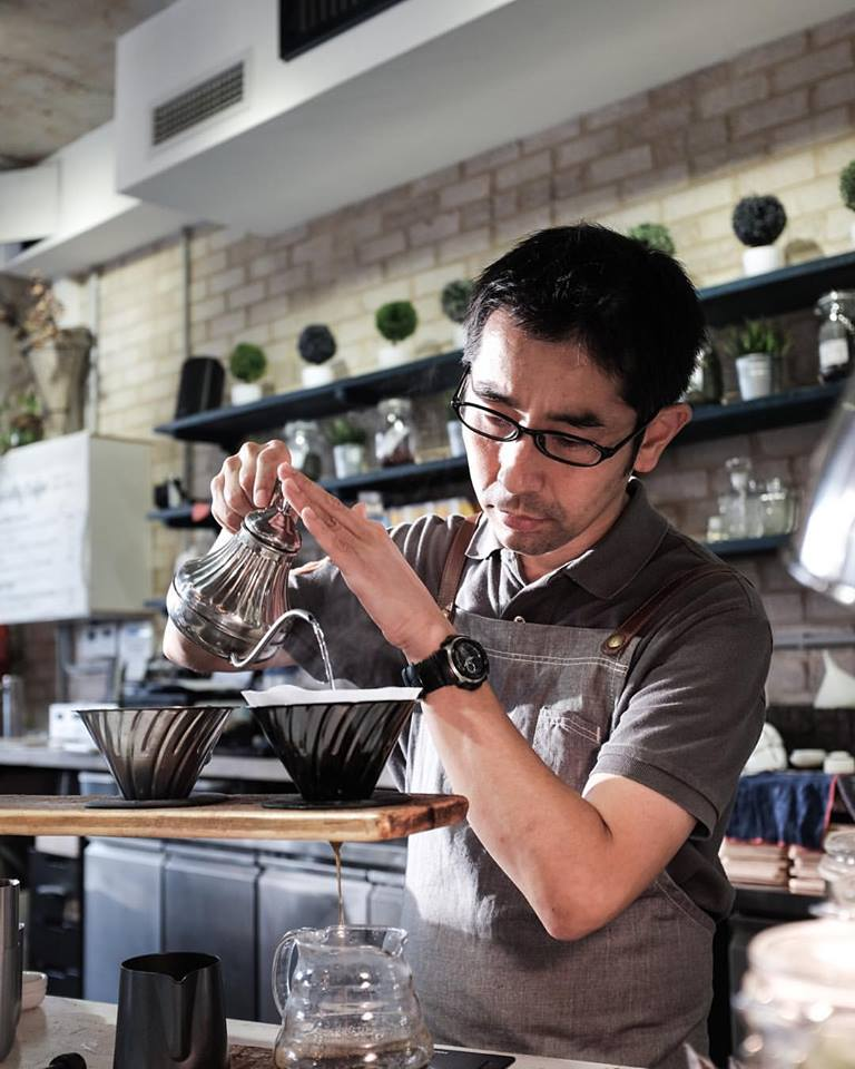 Pour Over Coffee made by Hiro San (2016)