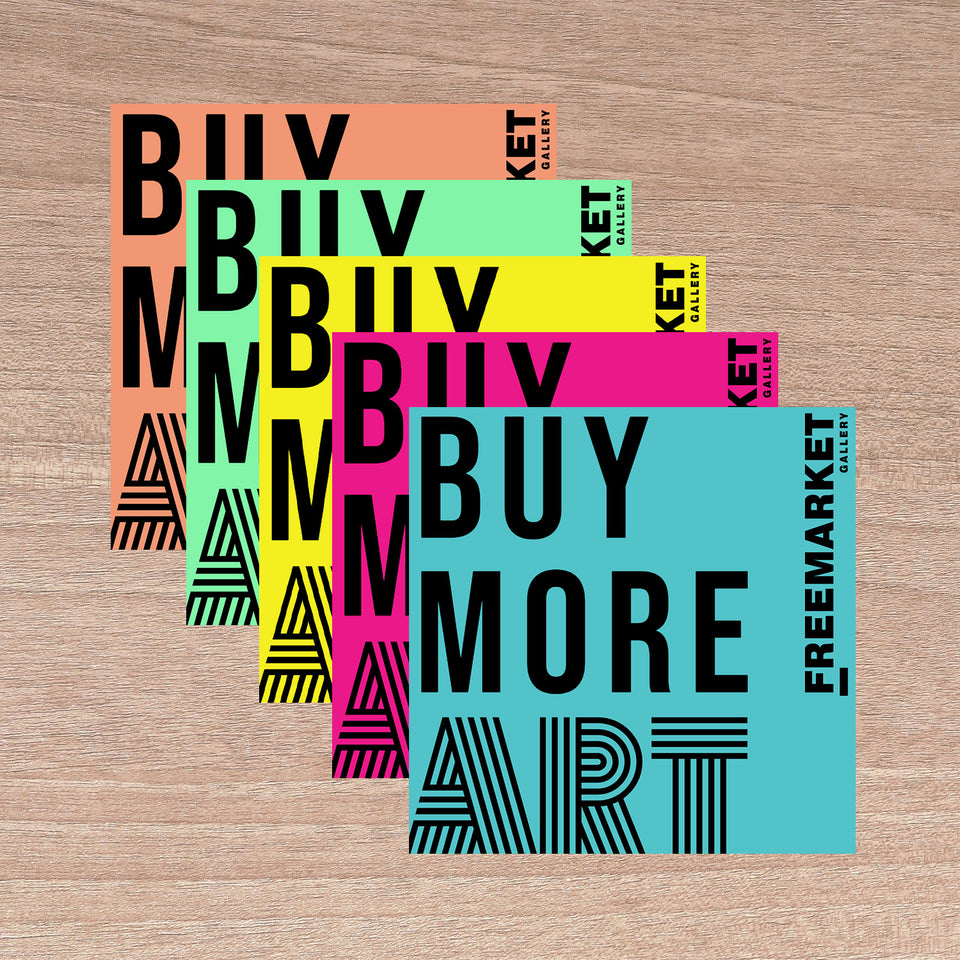 Buy More Art Sticker 5-Pack