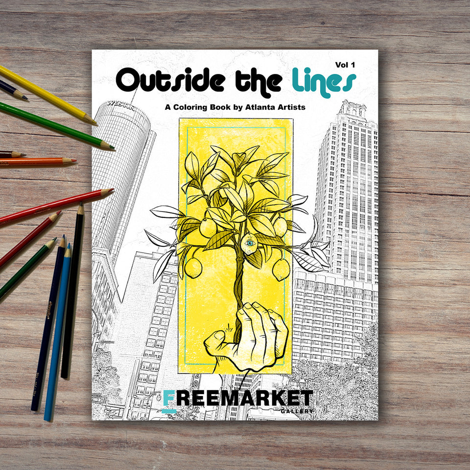 DIGITAL DOWNLOAD - Outside the Lines Coloring Book