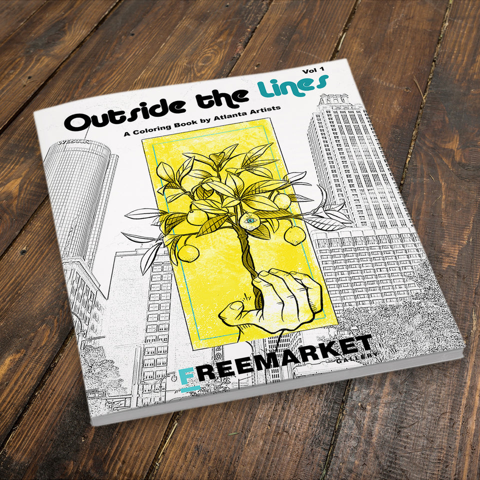Outside the Lines Coloring Book - Printed Book
