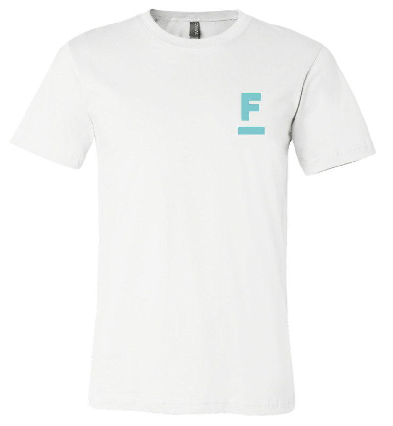 FreeMarket Logo Tee - White