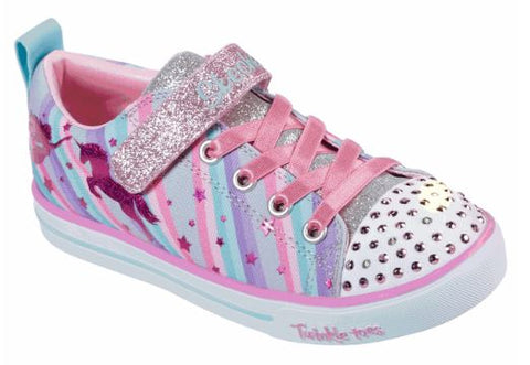 Skechers Girls twinkle toes Sparkle lite  Toddler