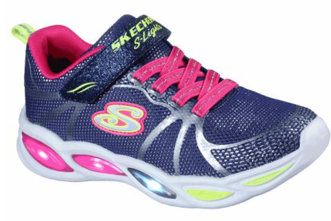 Skechers Girls S Lights Shimmer Beams Sporty Glow  Toddler