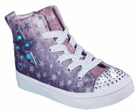 Skechers Girls Twinkle toes TWI-LITES - STARRY GEM Youth