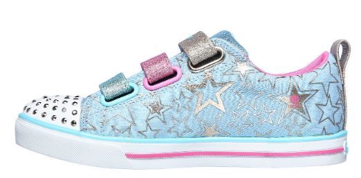 Skechers GirlsTwinkle Toes- Sparkle lite Stars the limit