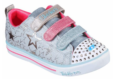 Skechers Girls twinkle toes Sparkle lite - STARS THE LIMIT Toddler