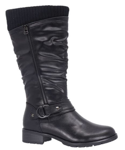 Taxi Amber Winter Tall Boot : BLK