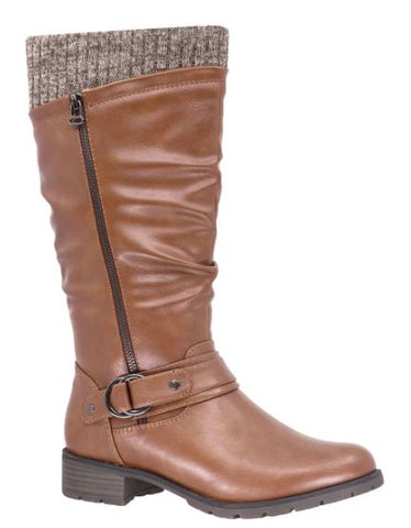 Taxi Amber Winter Tall Boot : TAN