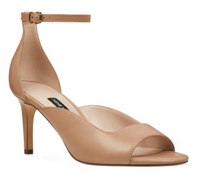 Nine West Ankle strap Sandals_ Nude