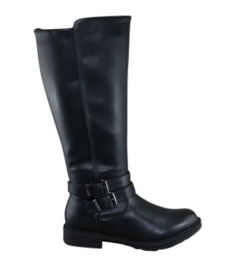 Women's Brenda Riding Boot: Blk