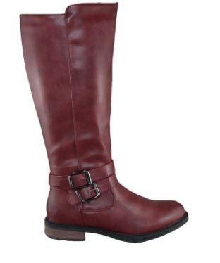 Women's Brenda Riding Boot: RED