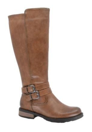 Women's Brenda Riding Boot: TAN