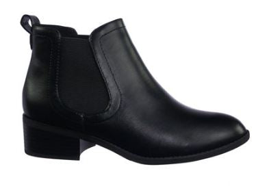 Womens Chelsea Pull On Dress Bootie