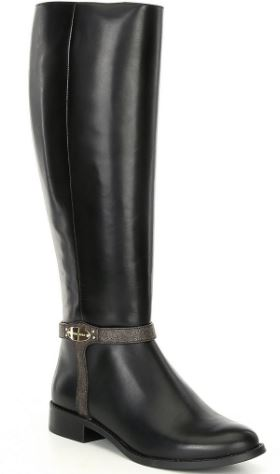 Michael Kors Finley Leather Tall Boots