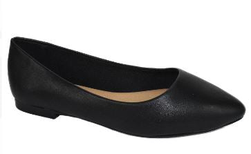 Womens Flat Pointy toe Shoes -Blk