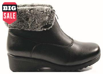 Canada Comfort Zipper Ankle Winter Boots