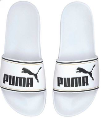 Puma Womens Sandals Leacat ftr Slides : Wht