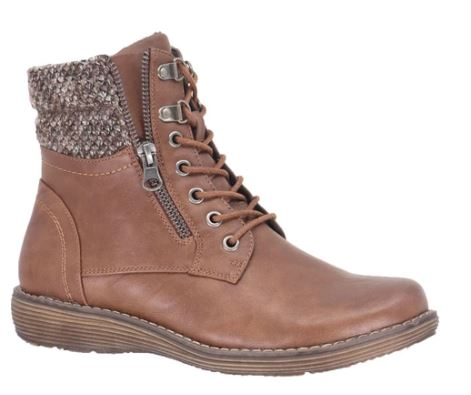 Taxi Ankle Laced Boot : Tan