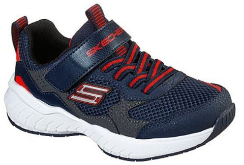 Skechers Boys Power Sonic Sneakers : NVRD