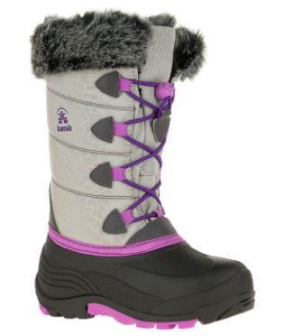 Youth Kamik Winter Boots Grey