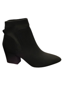 Women's Stretch Block Heel Virtue Bootie
