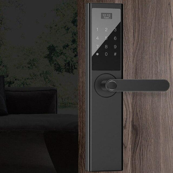 GFTED Home improvement K-Star Fingerprint Password Lock Touch Screen 39937905-black