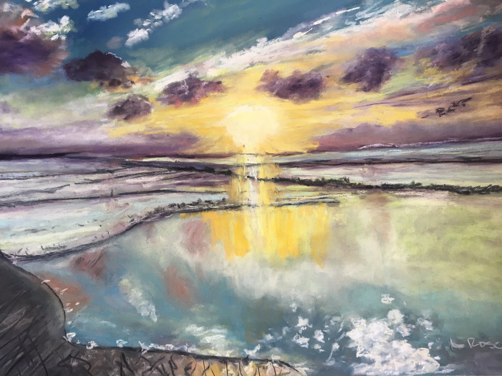 Silver Sunset - Lisa Rose Fine Art