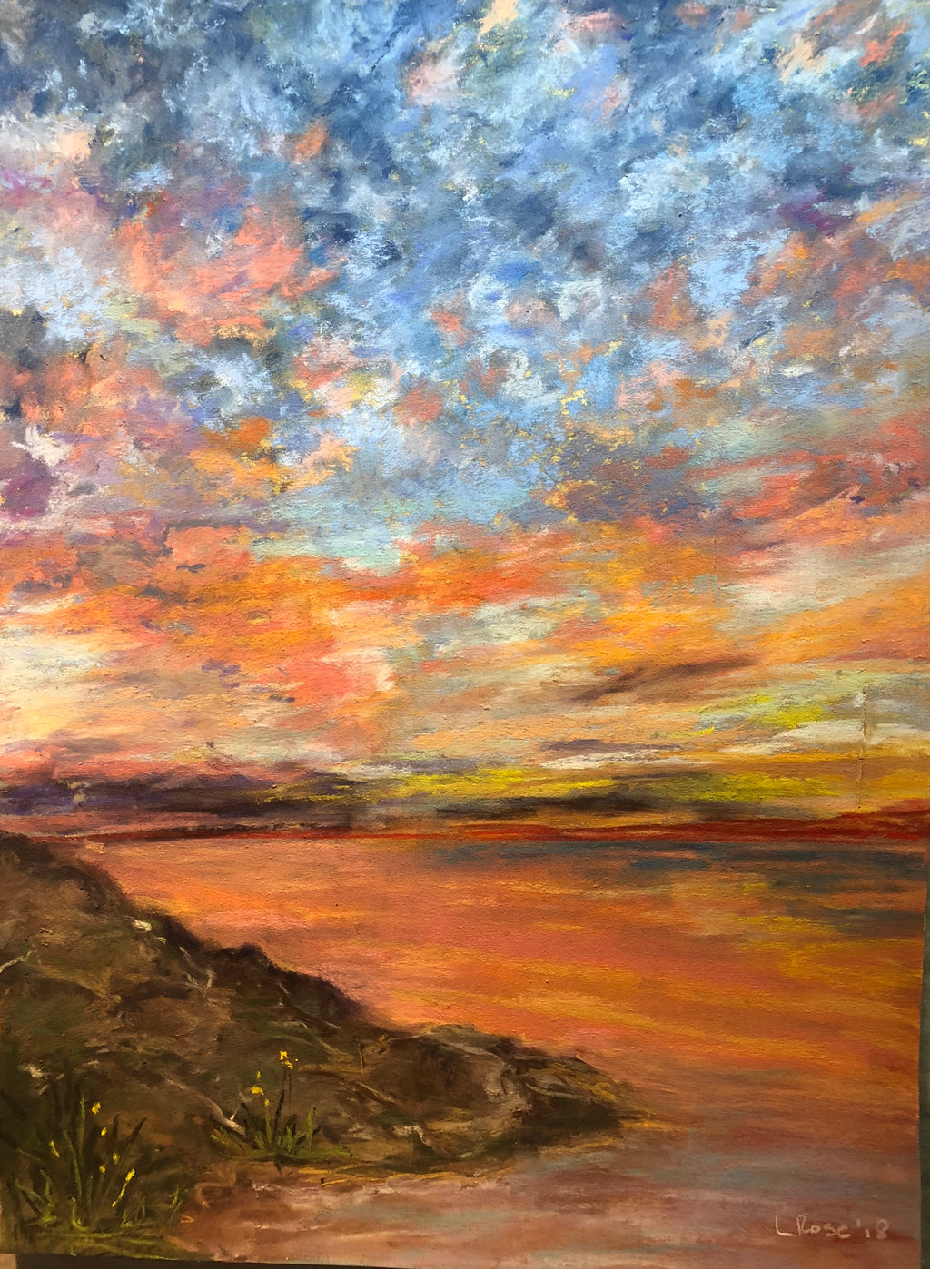 Sky Drama - Lisa Rose Fine Art