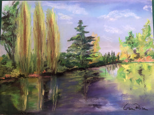 Clitunno Springs 2 - Fine Art for Sale- Lisa Rose Fine Art