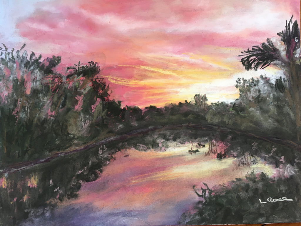 Sanctuary Sunrise - Lisa Rose Fine Art