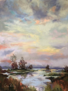 Marsh Sunset - Lisa Rose Fine Art