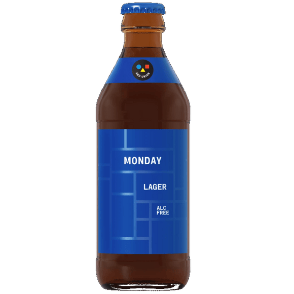 And Union Monday 0% Lager 24x330ml - Deal The Beer Town Beer Shop Buy Beer Online