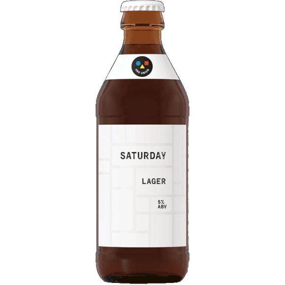 And Union Saturday (Unfiltered) 24x330ml The Beer Town Beer Shop Buy Beer Online