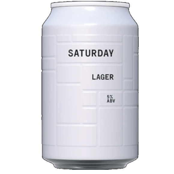 And Union Saturday (Unfiltered) Lager Cans 24x330ml The Beer Town Beer Shop Buy Beer Online