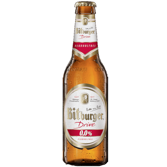The Beer Town Beer Bitburger Drive 0% Alcohol Free 24x330ml