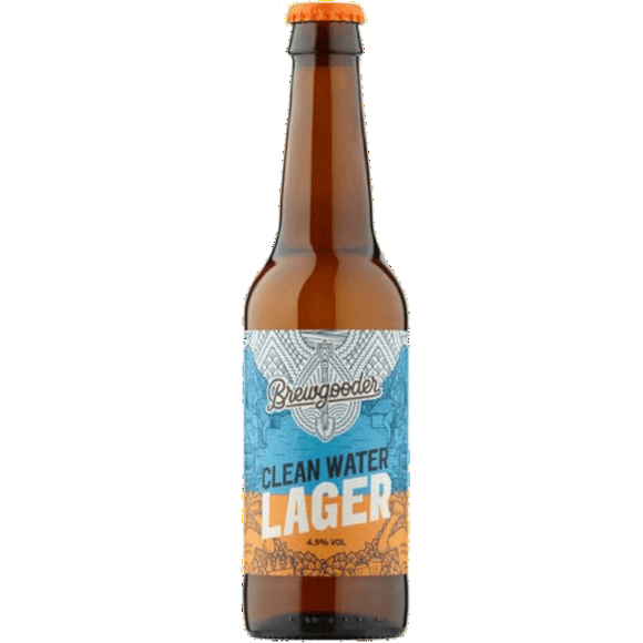 Brewgooder Clean Water Lager 12x330ml The Beer Town Beer Shop Buy Beer Online