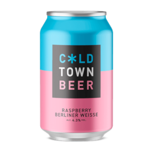 Cold Town Raspberry Berliner Weisse 24x330ml The Beer Town Beer Shop Buy Beer Online