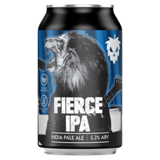 Fierce IPA Cans 24x330ml The Beer Town Beer Shop Buy Beer Online